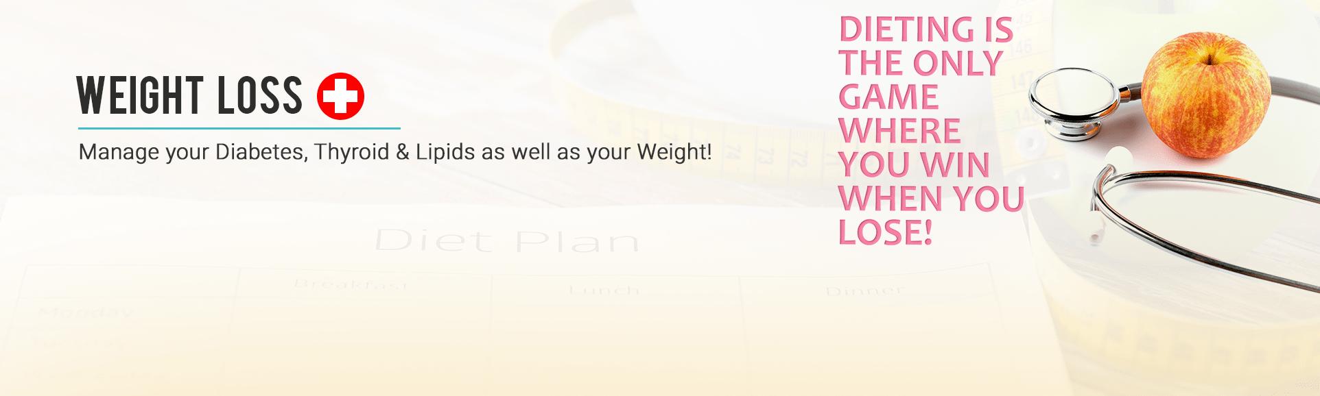 WEIGHT LOSS +  banner