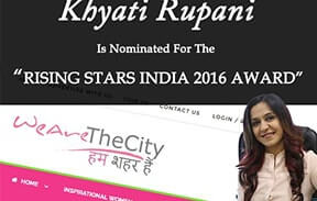 Rising stars Of India Award