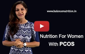 Nutrition for woment with PCOS