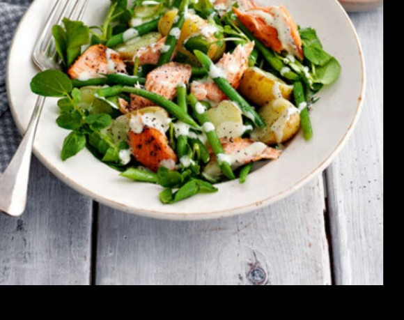 Easy Salmon Salad Recipe with Soy Beans | Balance Nutrition